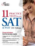 Princeton Review's 11 Tests for the SAT & PSAT